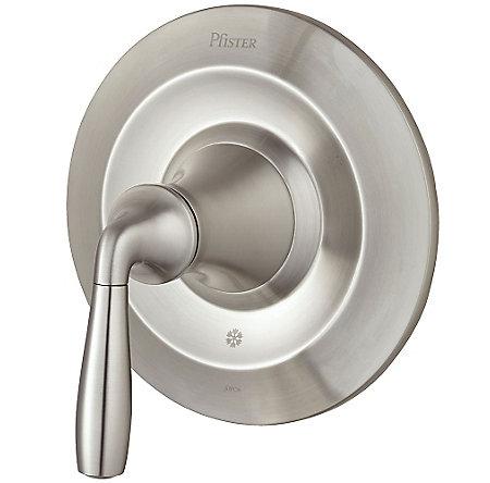 Brushed Nickel Iyla Valve, Trim Only - R89-1TRK - 1