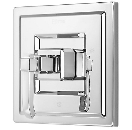 Polished Chrome Carnegie Tub & Shower Valve Only Trim - R89-1WEC - 1