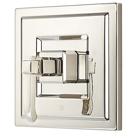 Polished Nickel Carnegie Tub & Shower Valve Only Trim - R89-1WED - 1