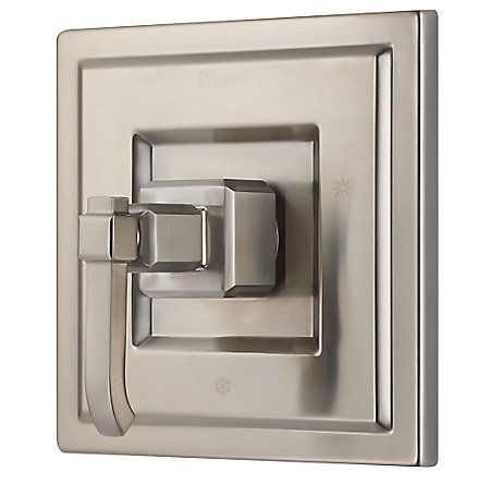 Brushed Nickel Carnegie Tub & Shower Valve Only Trim - R89-1WEK - 1