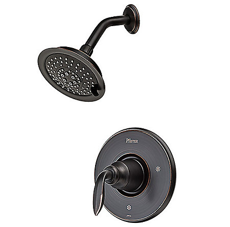 Tuscan Bronze Avalon Shower Only - G89-7CBY - 1