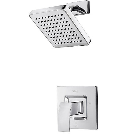Polished Chrome Kenzo Shower Only - R89-7DFC - 1