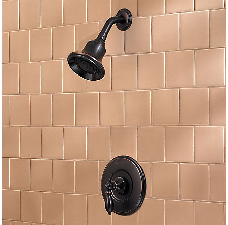 Tuscan Bronze Catalina Shower Only - R89-7EBY - 2
