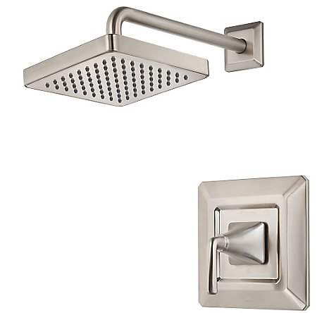 brushed nickel park avenue shower only - r89-7fek - 1