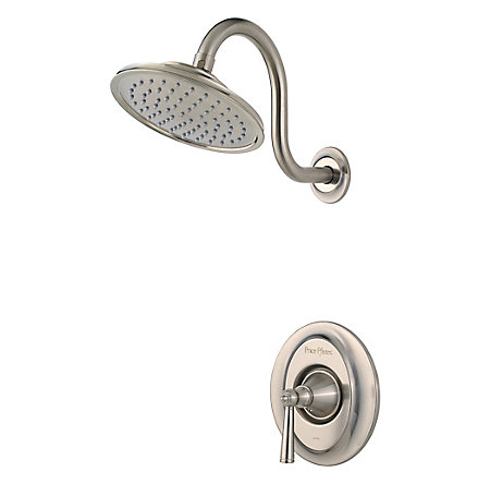 Brushed Nickel Saxton 1-Handle Shower, Trim Only - R89-7GLK - 1