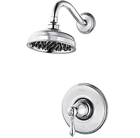 Polished Chrome Marielle Shower Only - R89-7MBC - 1