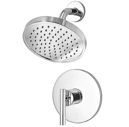 Polished Chrome Contempra 1-Handle Shower, Trim Only - G89-7NCC - 1