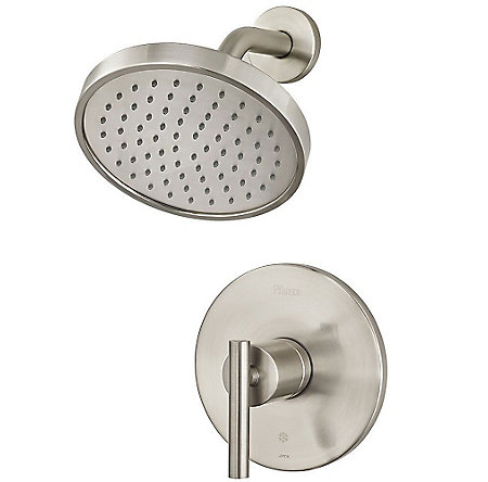 Brushed Nickel Contempra 1-Handle Shower, Trim Only - G89-7NCK - 1