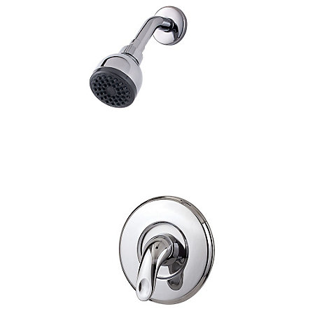 polished chrome serrano shower only - r89-7src - 1