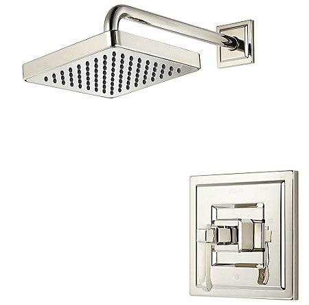 Polished Nickel Carnegie Shower Only - R89-7WED - 1