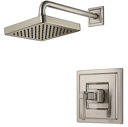 Brushed Nickel Carnegie Shower Only - G89-7WEK - 1