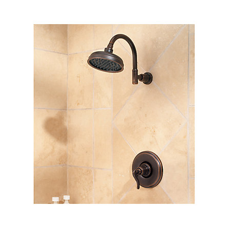 Rustic Bronze Ashfield 1-Handle Shower, Trim Only - G89-7YPU - 2