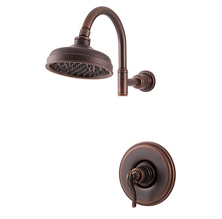 Rustic Bronze Ashfield 1-Handle Shower, Trim Only - G89-7YPU - 1