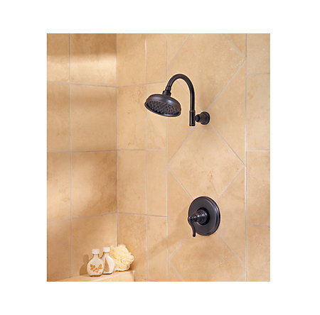 Tuscan Bronze Ashfield 1-Handle Shower, Trim Only - R89-7YPY - 2
