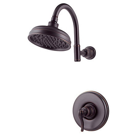 Tuscan Bronze Ashfield 1-Handle Shower, Trim Only - R89-7YPY - 1