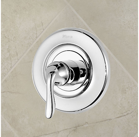 Polished Chrome Universal Tub and Shower Valve Only Trim Delta - R90-1DNC - 2