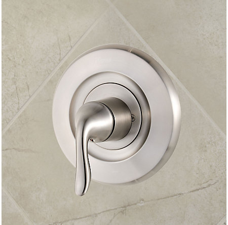 Brushed Nickel Universal Tub and Shower Valve Only Trim Delta - R90-1DNK - 2
