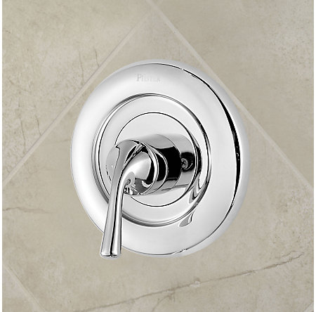 Polished Chrome Universal Tub and Shower Valve Only Trim Delta - R90-1DSC - 2