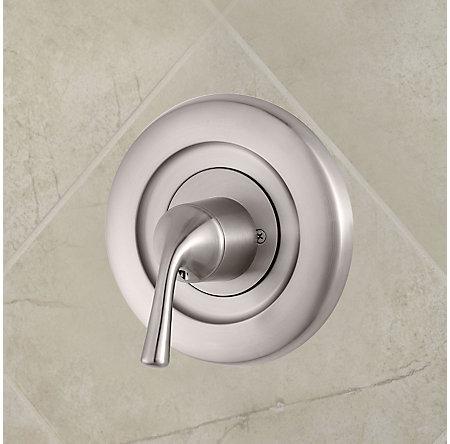 Brushed Nickel Universal Tub and Shower Valve Only Trim Delta - R90-1DSK - 2