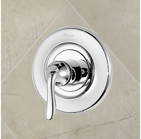 Polished Chrome Universal Tub and Shower Valve Only Trim Moen - R90-1MNC - 2
