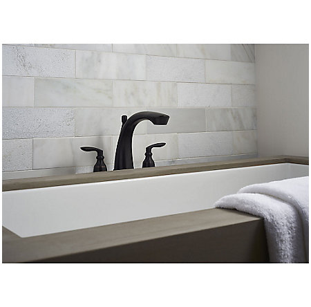 Tuscan Bronze Avalon 3-Hole Roman Tub, Trim Only - RT6-5CB1Y - 2