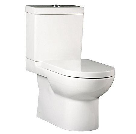 White Bernini Elongated Two Piece Toilet - VTP-E11W - 1