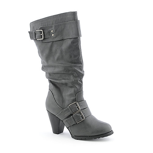 Refresh Selene-01 womens mid calf high heel boot