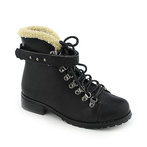 Refresh Nevada-01 womens ankle military/combat low heel boot