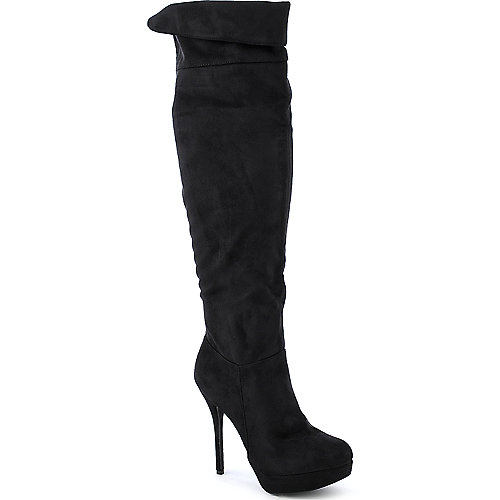 Diva Lounge Sonny-28 thigh high platform high heel boot
