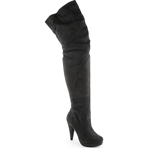 Diva Lounge Akemi-91 womens thigh high platform high heel boot