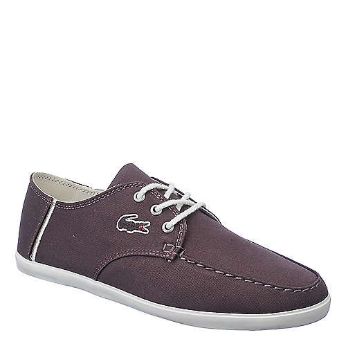 Lacoste Aristide mens red casual lace up sneaker