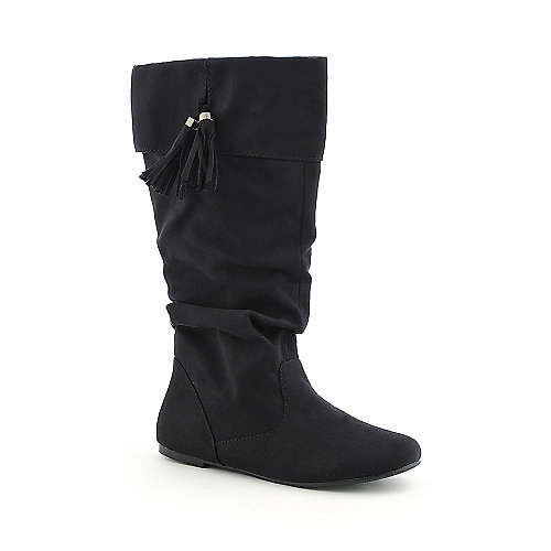 Soda Brandi-S womens mid calf flat boot