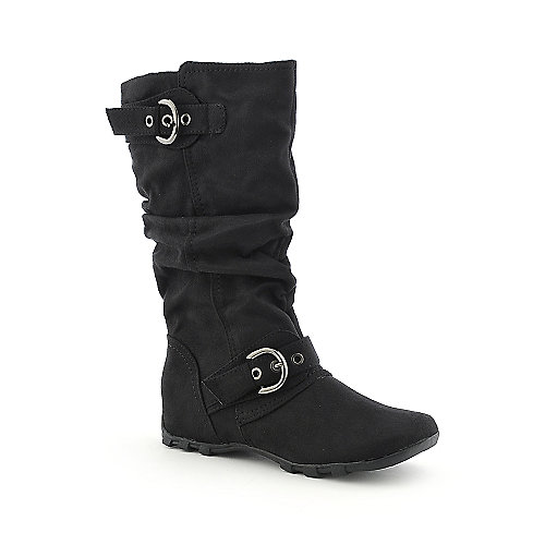 Soda Hanky-S womens flat mid calf boot