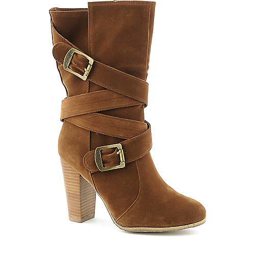 Dollhouse Dare mid calf high heel boot