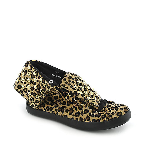 Cute To The Core Thrill Womens casual shoe animal print sneaker
