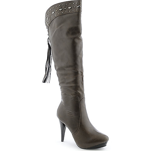 Refresh Annie-04 womens knee high platform high heel boot