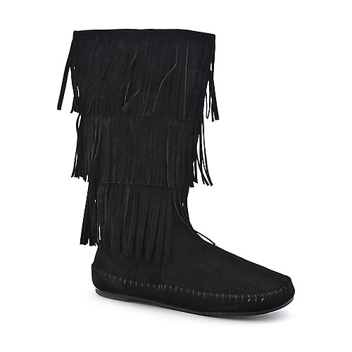 Bamboo Friends-28  womens flat mid calf boot