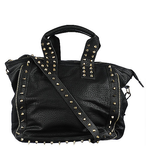 NuG Heavy Metal Tote handbag wristlet shoulder bag