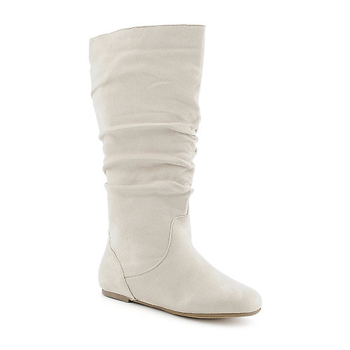 Shiekh Kalisa-04 womens flat mid calf boot
