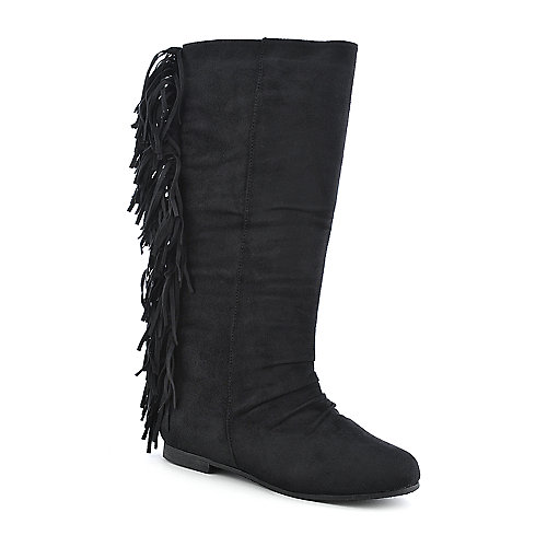 Diva Lounge Starcy-44 womens mid calf flat boot