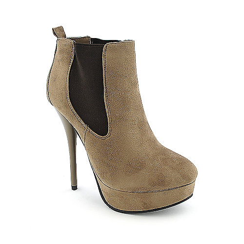 Diva Lounge Lorane-150 womens platform high heel ankle boot