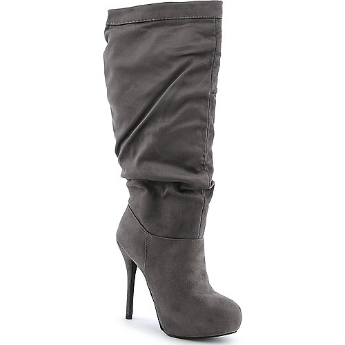 Diva Lounge Sonny-58 womens platform high heel knee high boot