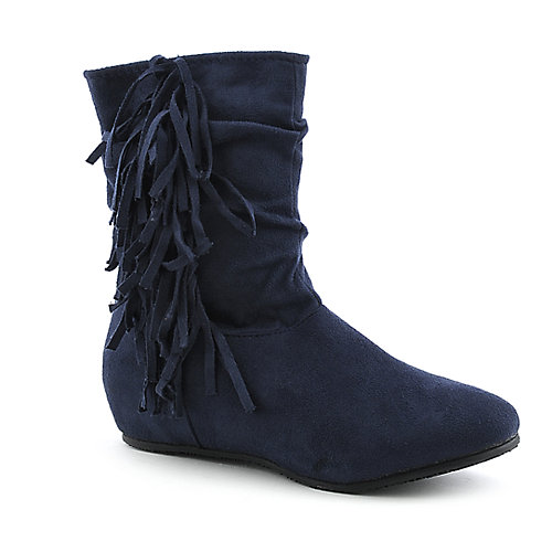 Diva Lounge-77A womens flat mid calf boot