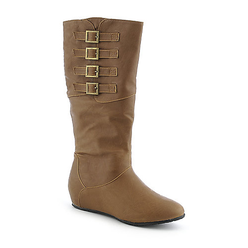 Diva Lounge Candies-81 womens mid calf flat boot