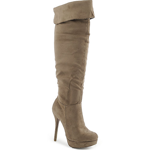 Diva Lounge Sonny-28 womens thigh high platform high heel boot
