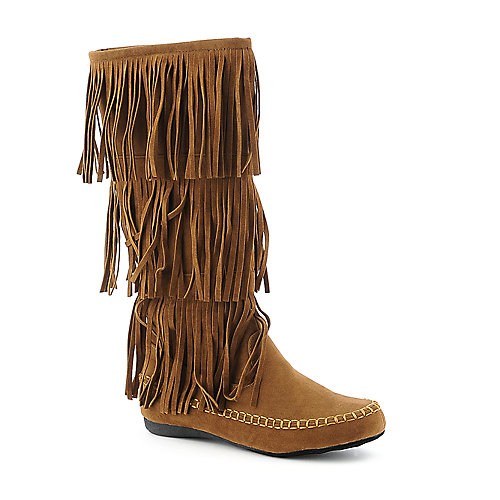 Yoki Mudd-32 womens flat mid calf western/riding boot