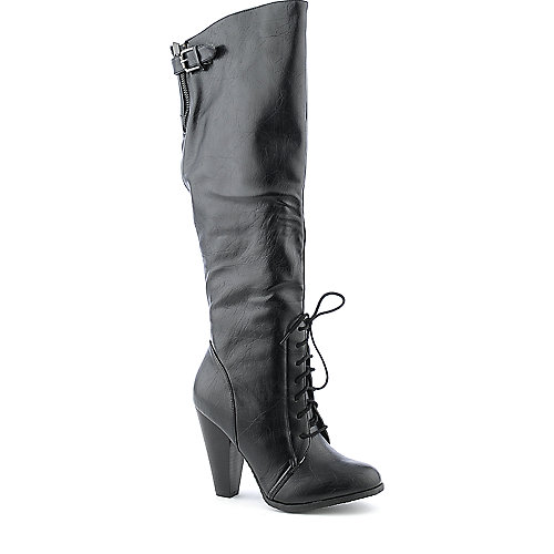 Bamboo Fenton-10 womens knee high high heel boot