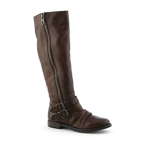 Steve Madden Saviorr womens knee high low heel western/riding boot
