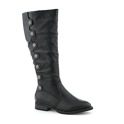 Cleopatra Rina-12 womens low heel mid-calf boot