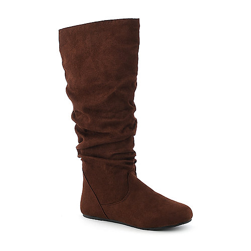 Bamboo Rebecca-02R knee high flat boot